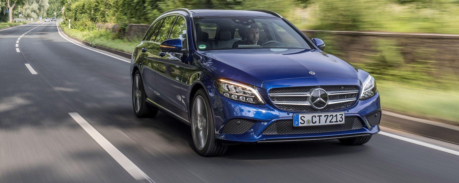 Mercedes Classe C 2018, la prova su strada
