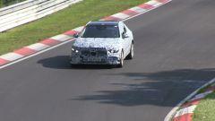 Mercedes Classe C 2021 durante i test al Nurburgring