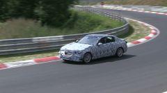 Mercedes Classe C 2021 sorpresa durante i test al Nurburgring
