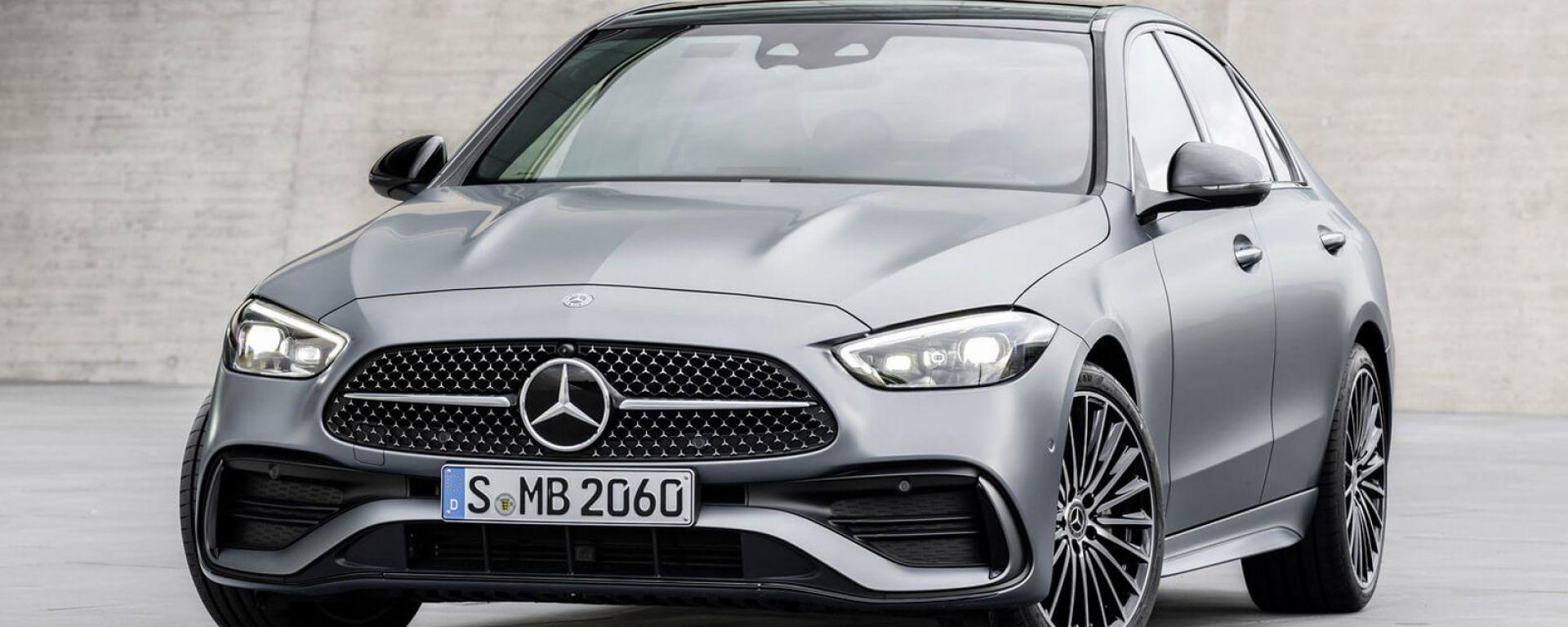 Mercedes Classe C AMG: il rendering di XTomi la immagina così