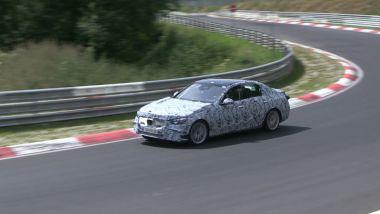 Mercedes Classe C impegnata al Nurburgring