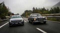 Mercedes Classe E 2016 vs Mercedes 280 SE 1968