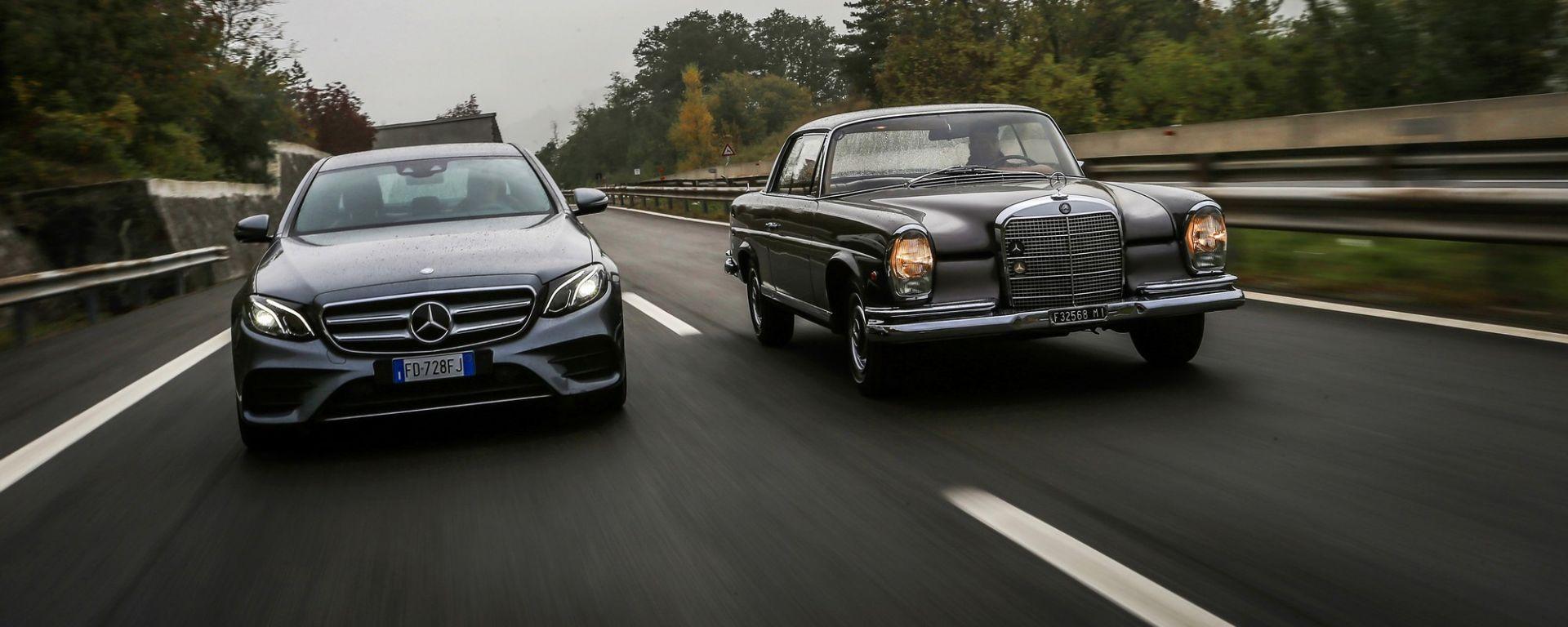 Mercedes: Classe E wagon vs 280 SE vs 190 E vs 200 E