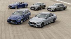 Mercedes Classe E 2020, foto di famiglia