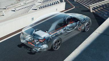 Mercedes Classe E 2020: il raffinato schema dell'elettrificazione della berlina tedesca