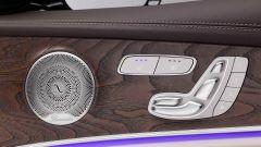 Mercedes Classe E All Terrain: le finiture specifiche sugli interni della portiera