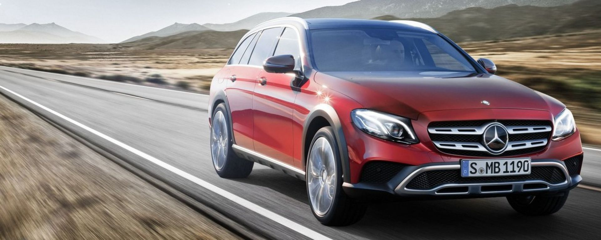 Mercedes Classe E All Terrain: un'altra wagon che non teme lo sporco