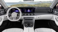 Mercedes Classe E Cabrio 2020: gli interni