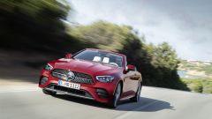 Mercedes Classe E Cabrio 2020: il frontale