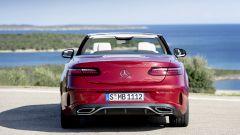 Mercedes Classe E Cabrio 2020: il posteriore
