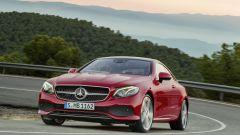 Mercedes Classe E Coupé: aumenta anche la carreggiata, per una maggiore tenuta di strada