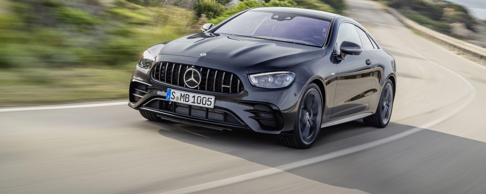 Mercedes Classe E Coupé e Cabrio 2020, mild hybrid la parola d'ordine