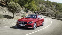 Mercedes Classe E Coupé: i motori disponibili al lancio saranno 4: 3 benzina e un diesel