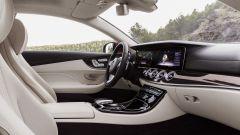 Mercedes Classe E Coupé: i sedili hanno un disegno più sportivo
