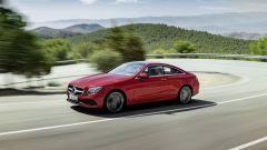 Mercedes Classe E Coupé: le linee sono muscolose ed eleganti