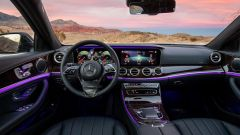 Mercedes Classe E facelift: interni