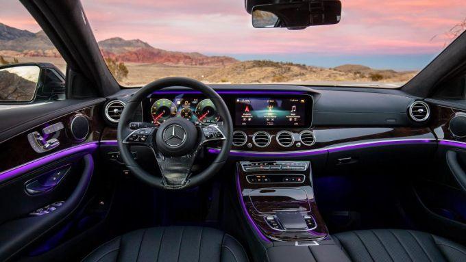 Mercedes classe e interni