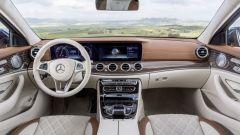 Mercedes Classe E Station Wagon: come nella berlina l'infotainment si basa un grosso tablet da 12,3 pollici