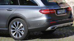 Mercedes Classe E SW All-Terrain: gommata con pneumatici dalla spalla più alta (245/45 R19)