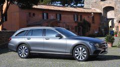Mercedes Classe E SW All-Terrain: la modalità All-Terrain è derivata dalla GLE