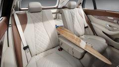Mercedes Classe E Wagon: gli schienali posteriori frazionati in proporzione 40:20:40
