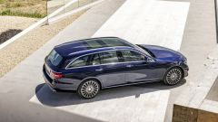 Mercedes Classe E Wagon: vista dall'alto