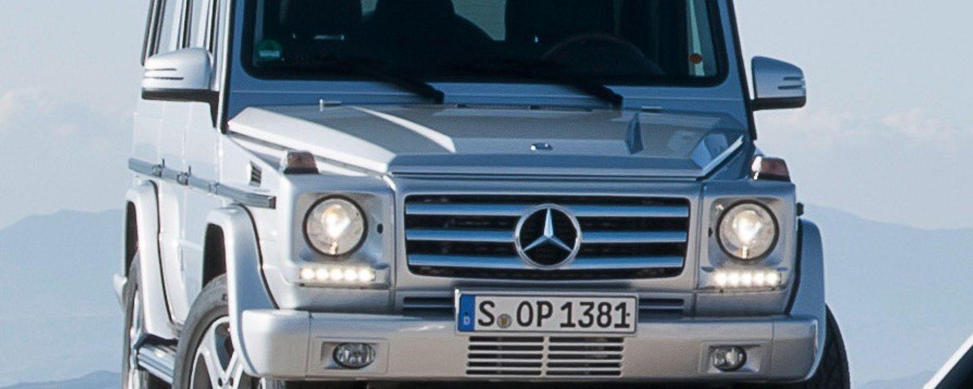 Mercedes Classe G 2012: un cameo inatteso