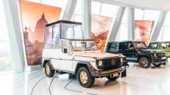 Mercedes Classe G: anche Papamobile