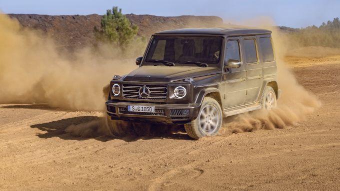 Mercedes Classe G diventerà EQG? Forse nel 2022