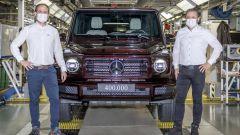 Mercedes Classe G: ecco il numero 400.000