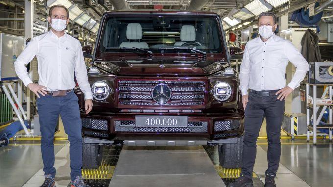 Mercedes Classe G: ecco l'esemplare numero 400.000