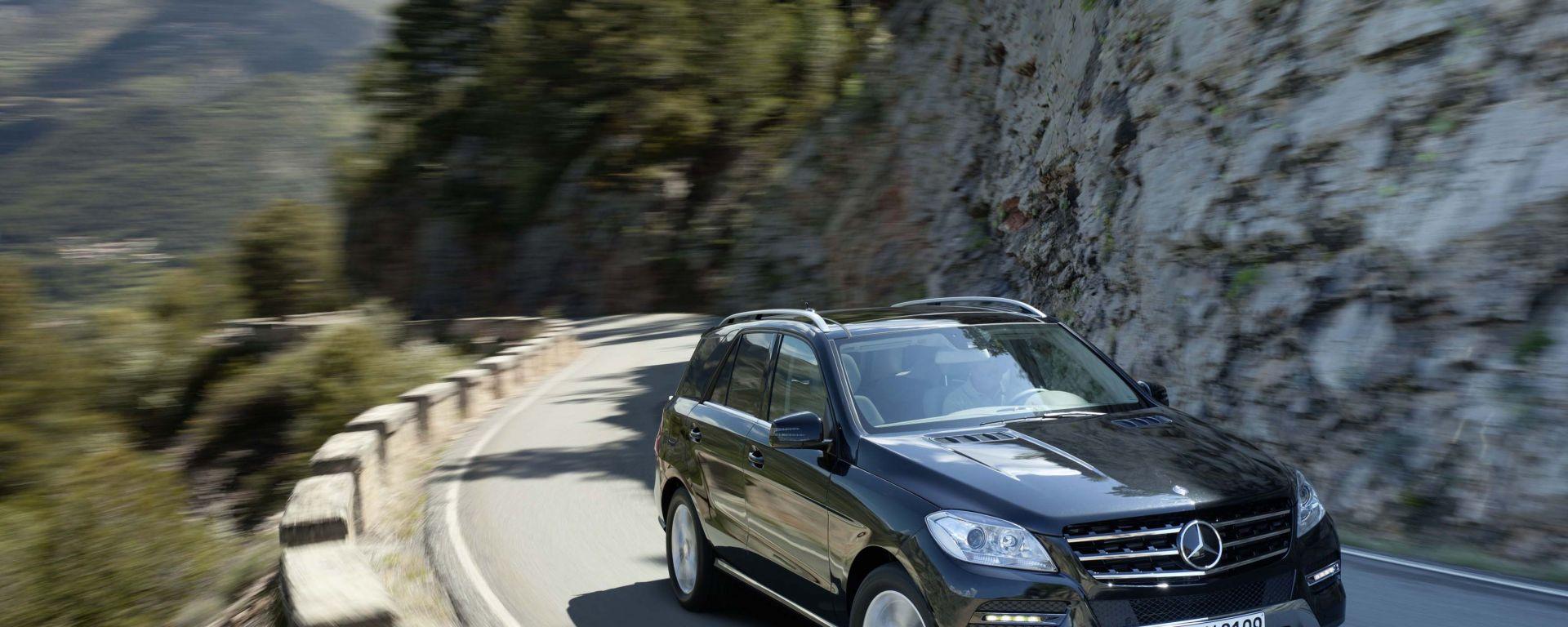 Mercedes Classe M 2012: primo contatto