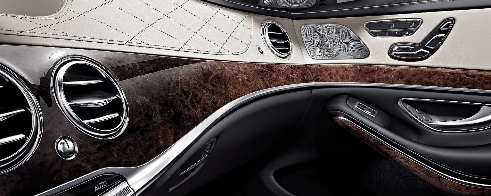 Mercedes Classe S 2014: gli interni