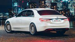 Mercedes Classe S 2020, così lo stile posteriore?