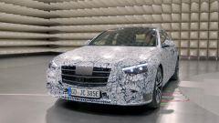 Nuova Mercedes Classe S: prime immagini ufficiali, MBUX compreso - Immagine: 3