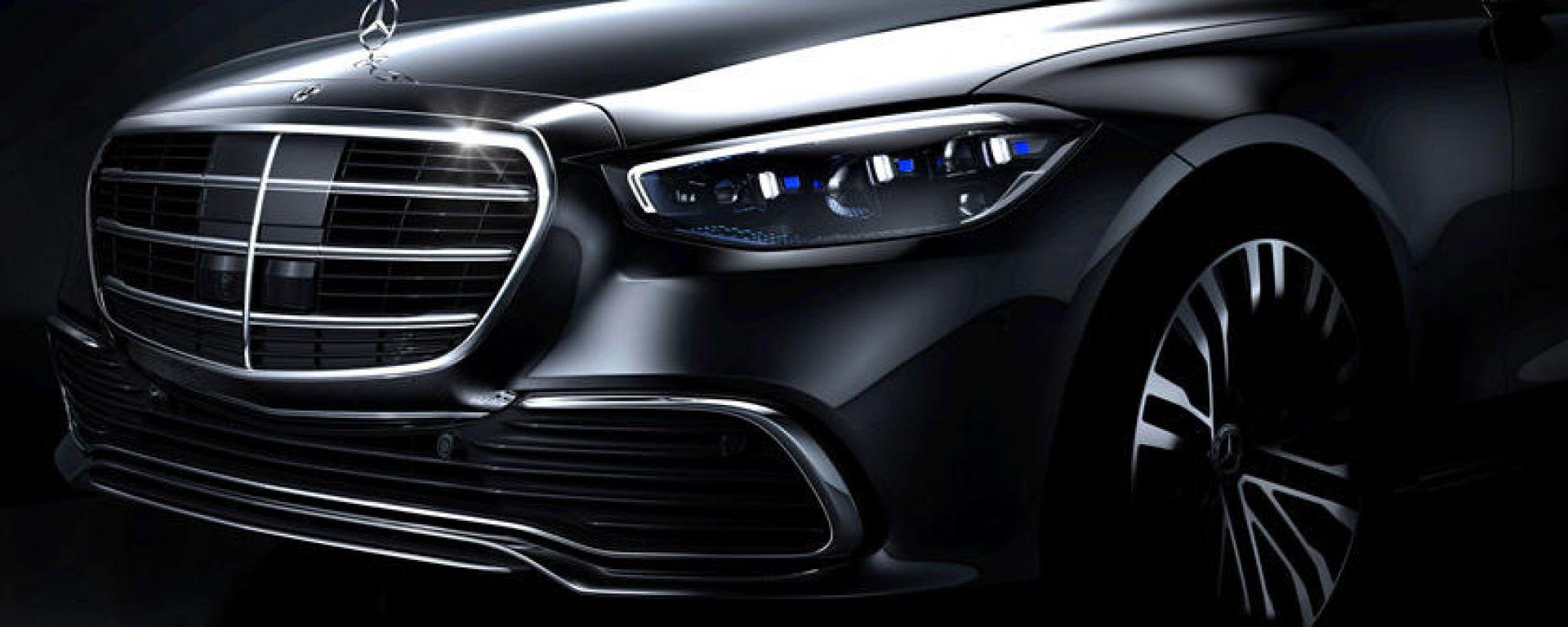 Mercedes Classe S 2021: il primo teaser