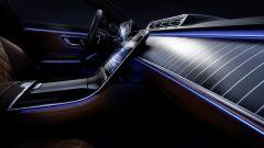 Mercedes Classe S 2021: interni e dotazioni di comfort di bordo