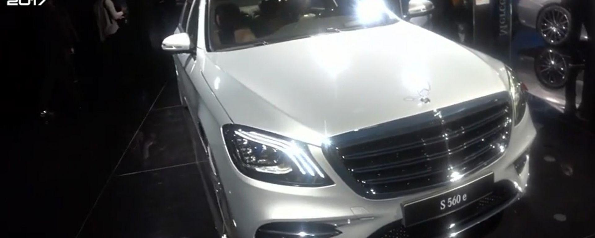 Mercedes Classe S Cabrio e Coupé: arriva il restyling 2018