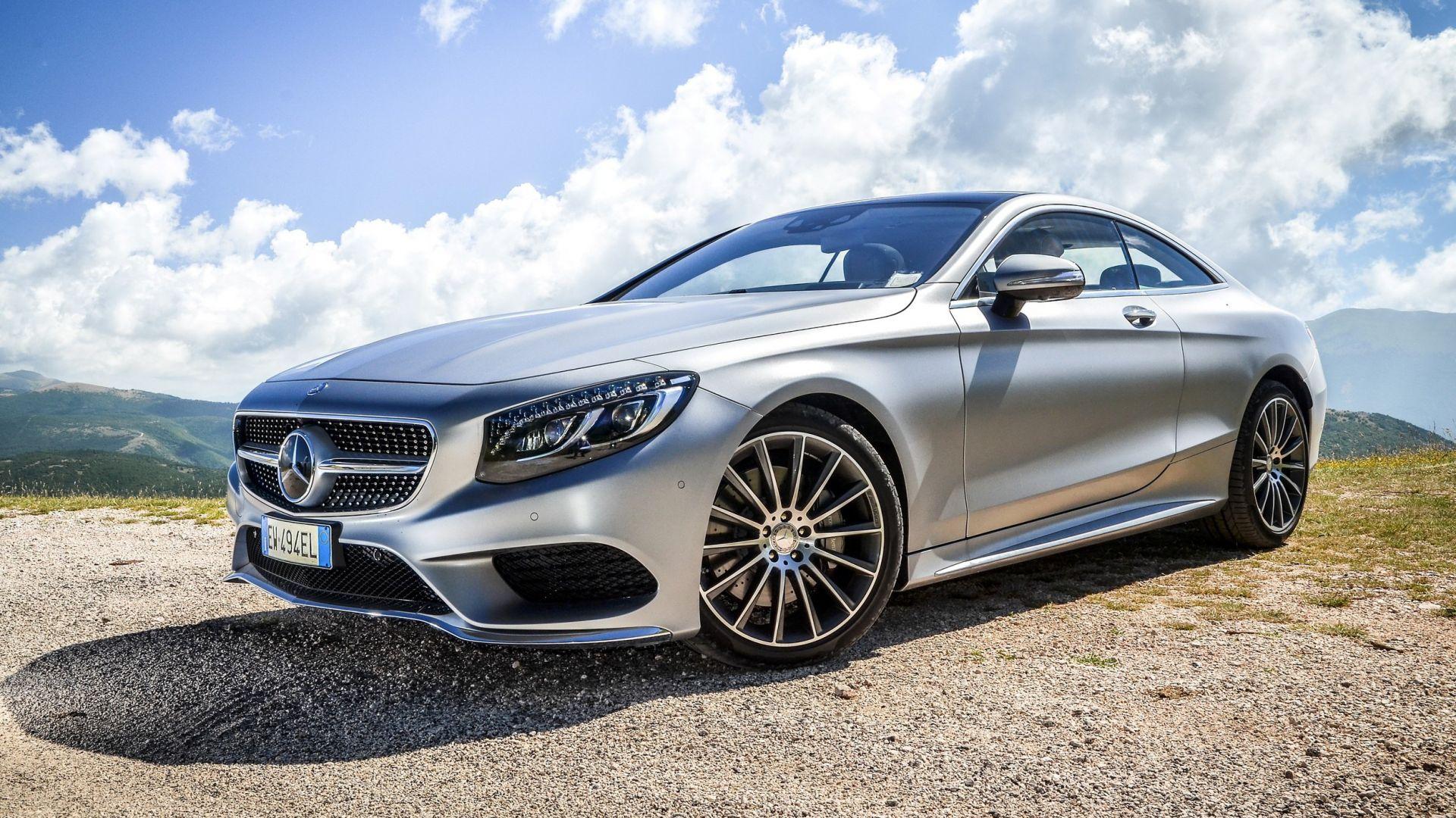 Prova su strada mercedes classe s coup motorbox - Mercedes classe e 4 coupe ...