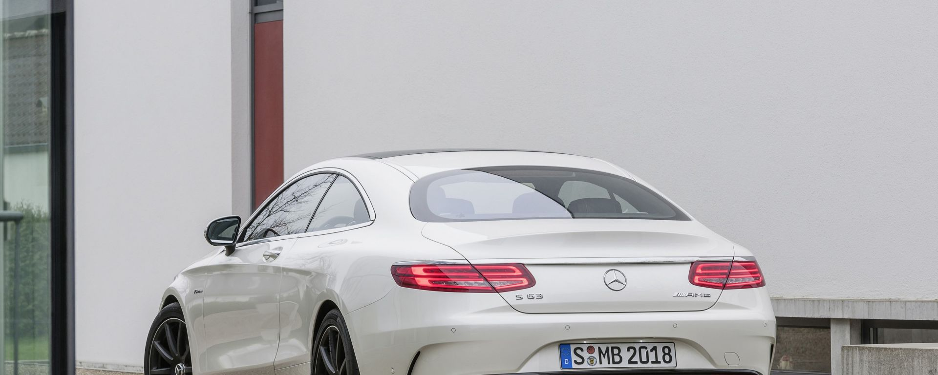 Mercedes S Coupé 63 AMG