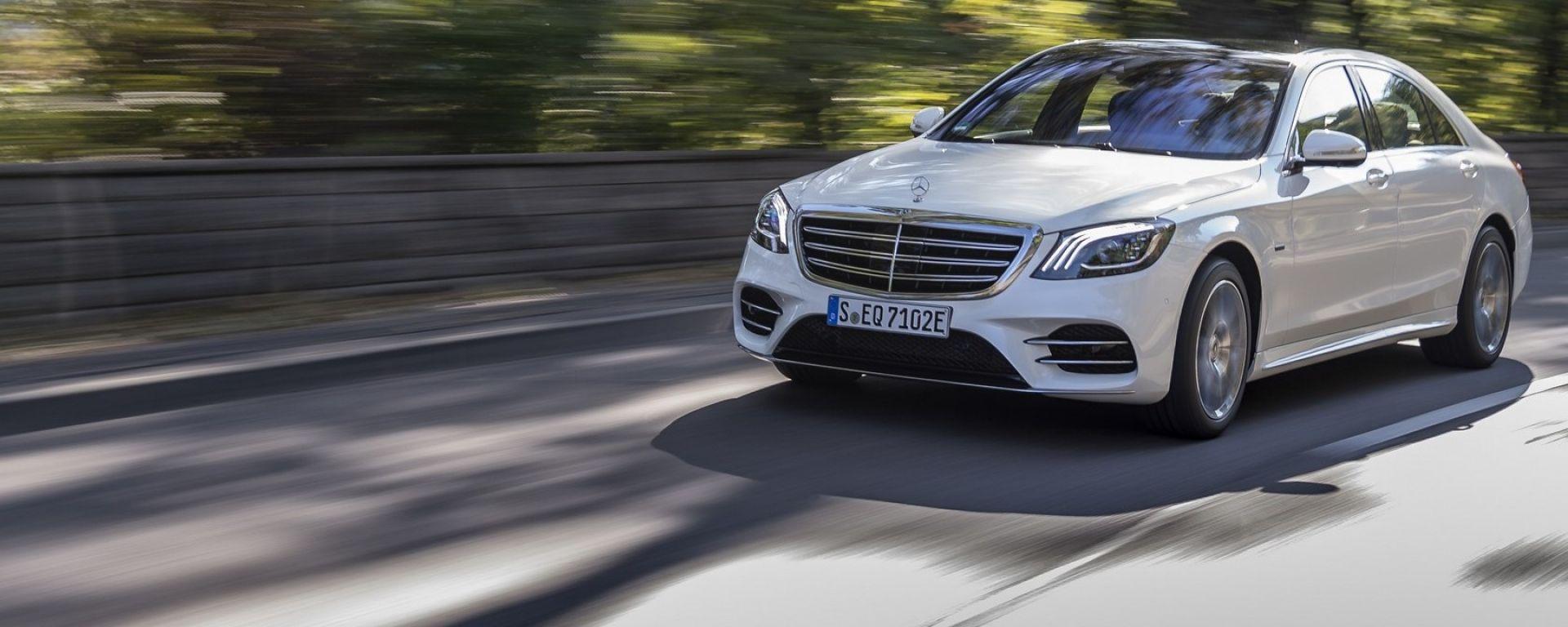 Mercedes Classe S Plug-in Hybrid, nome in codice S 560 e