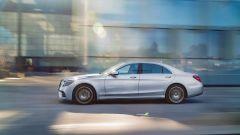 Mercedes Classe S restyling, il profilo