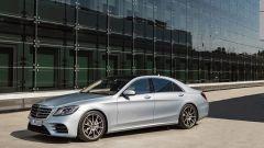 Mercedes Classe S restyling, il trequarti anteriore