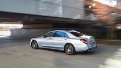 Mercedes Classe S restyling, il trequarti posteriore