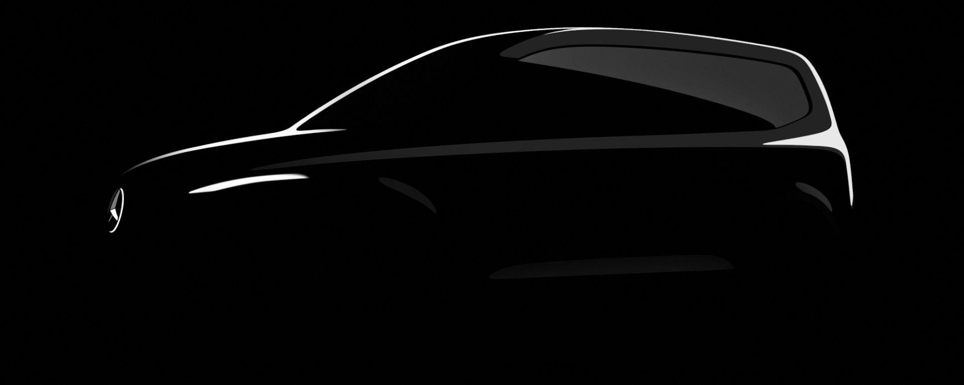 Mercedes Classe T: la prima immagine teaser