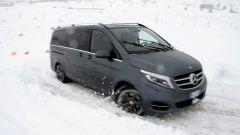 Mercedes Classe V: vista 3/4 anteriore