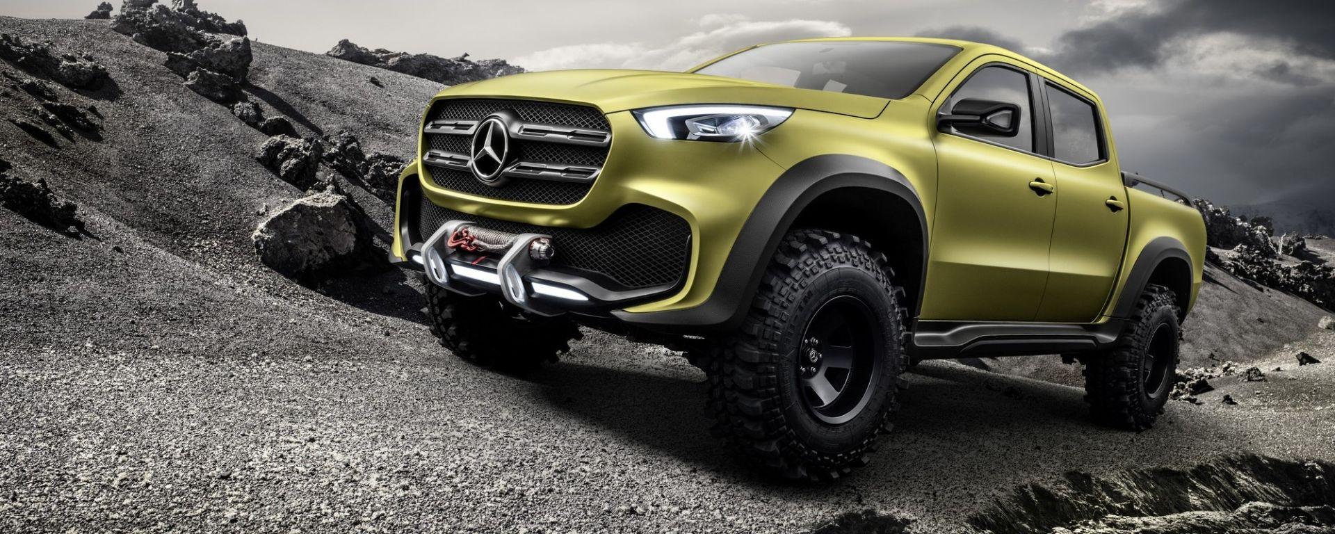 Mercedes Classe X: a Ginevra la concept