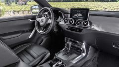 Mercedes Classe X, gli interni