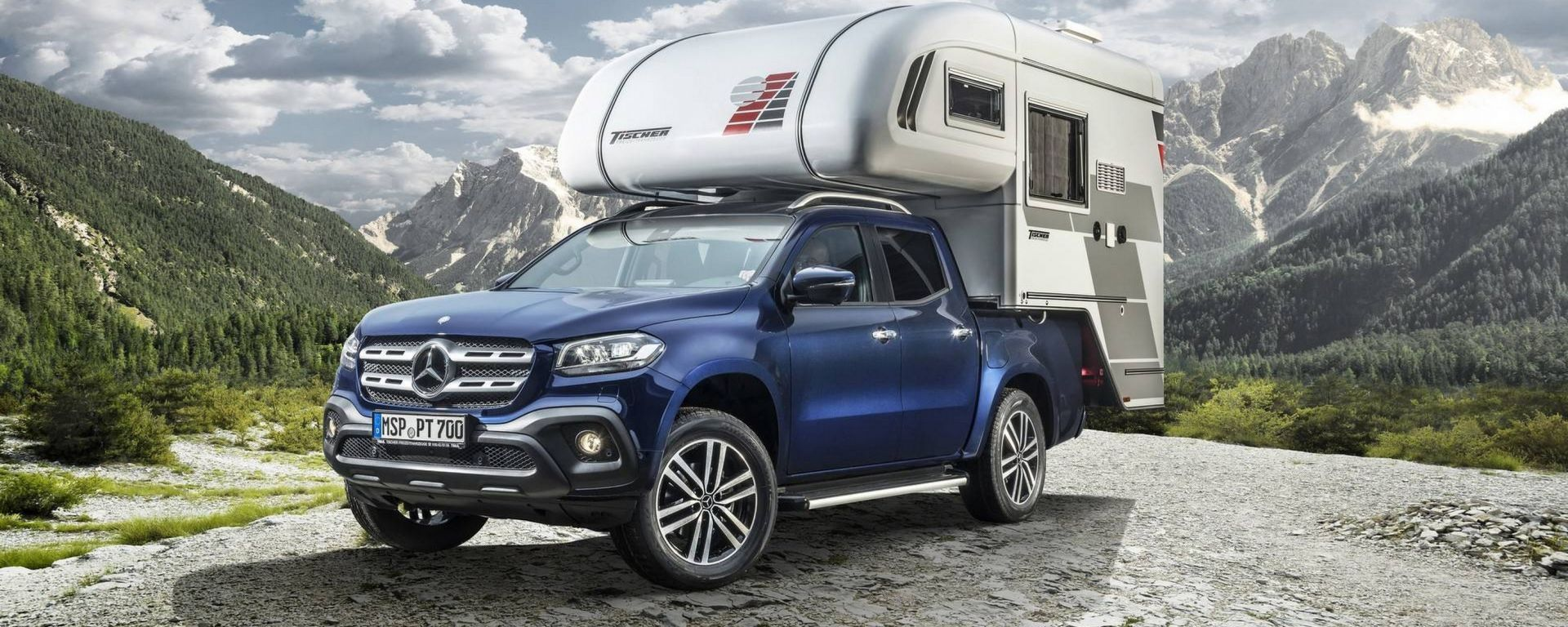 Mercedes Classe X: quando il pick-up diventa camper. Ecco ...