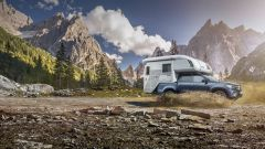 Mercedes Classe X: quando il pick-up diventa camper - Immagine: 4